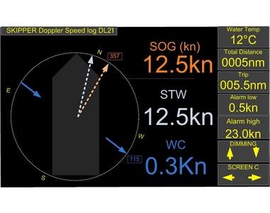Loch doppler DL21