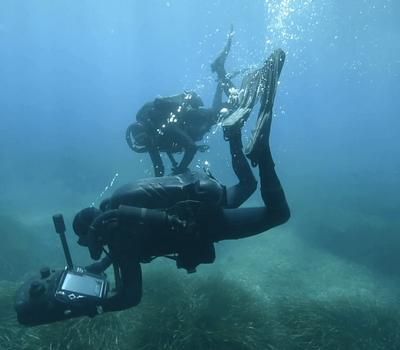 Sonar pour plongeur