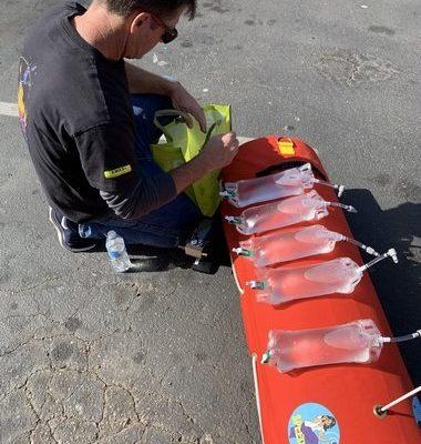USV SPEEDoo pour prélèvement d'eau en surface