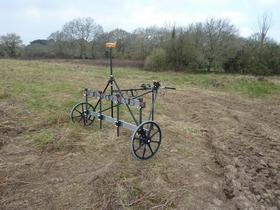 Chariot magnétomètre sur mesure